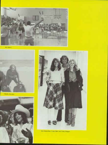 1981 Edgewater High School Yearbook Page 9