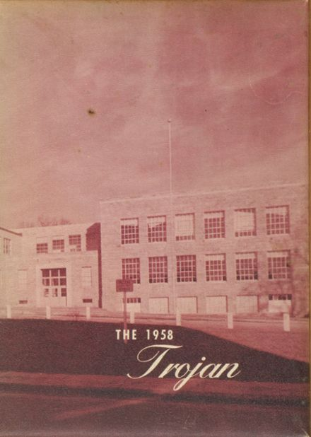 1958 Athens High School Yearbook Cover
