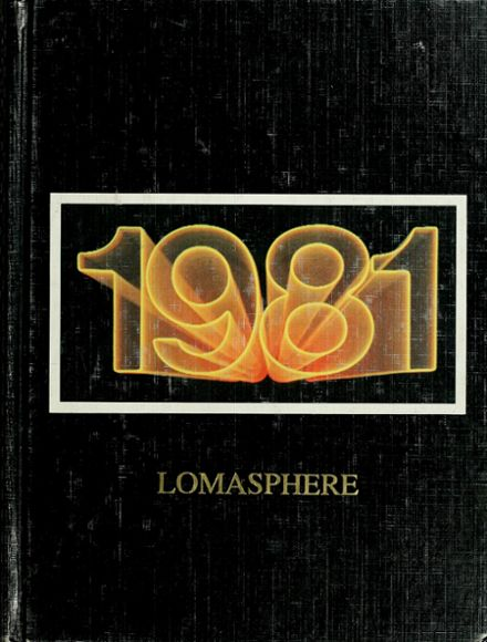 1981 Loma Linda Academy Yearbook Cover