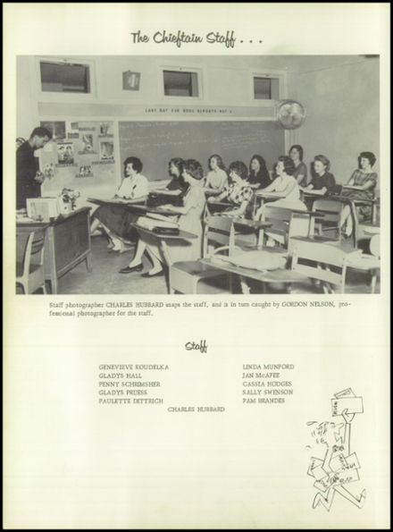 1961 Ganado High School Yearbook Page 8