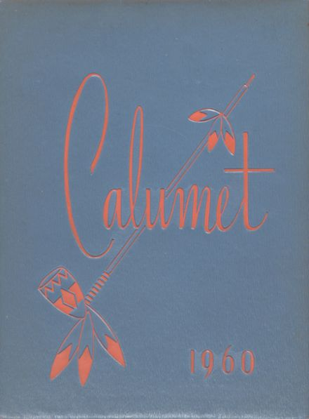 1960 Clairemont High School Yearbook Cover