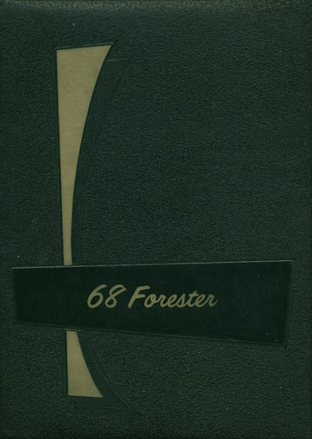 1968 Forest Hills High School Yearbook Cover