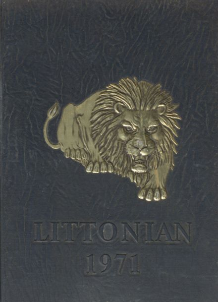 1971 Litton High School Yearbook Cover