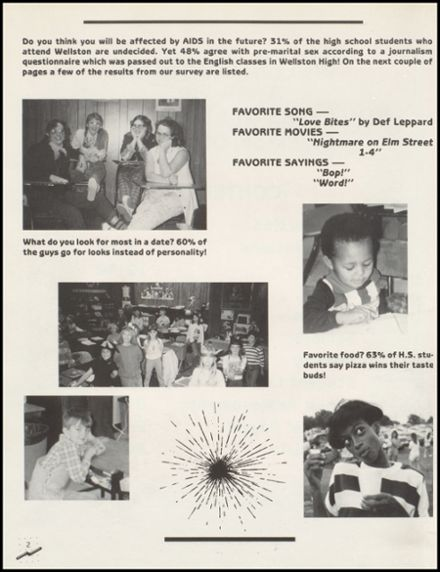 1989 Wellston High School Yearbook Page 6