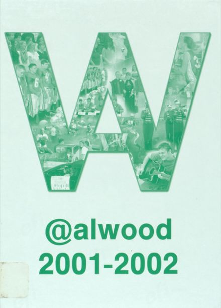 2002 Alwood High School Yearbook Cover