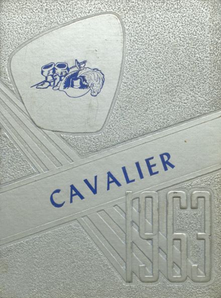 1963 Coldwater High School Yearbook Cover