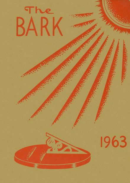 1963 Burbank High School Yearbook Cover