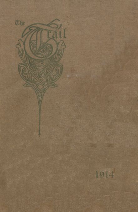 1914 Norman High School Yearbook Cover