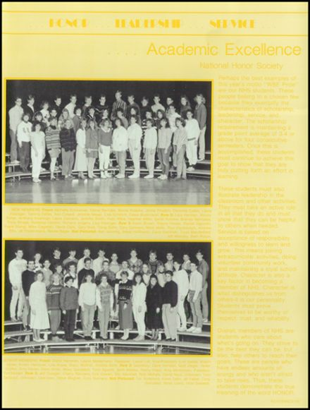 1988 West Bend High School Yearbook Page 9