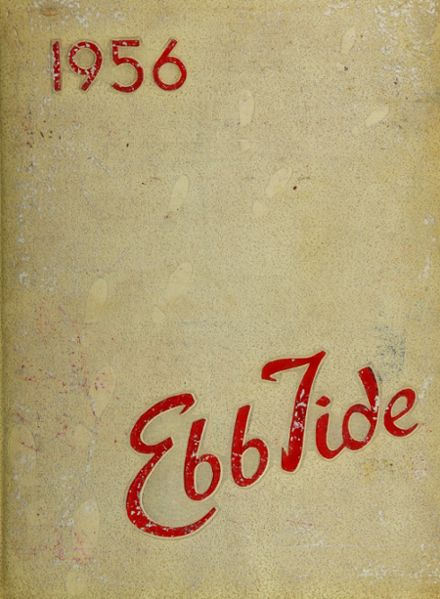 1956 Point Pleasant Beach High School Yearbook Cover