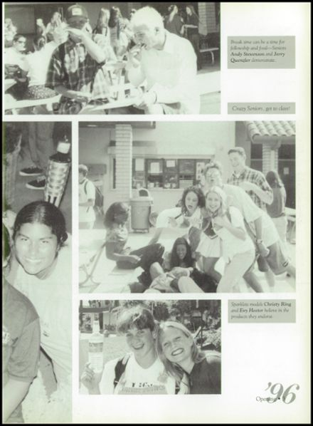 1996 Calvary Chapel School Yearbook Page 7