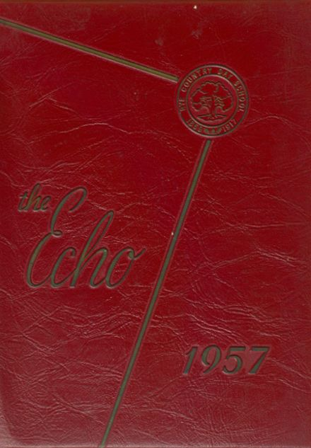 1957 Rye Country Day School Yearbook Cover