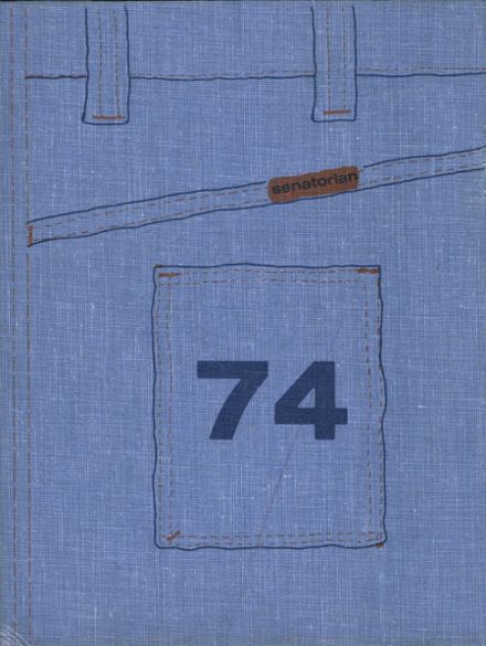 1974 Portsmouth West High School Yearbook Cover