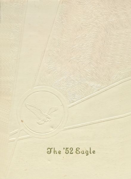1952 Freedom High School Yearbook Cover