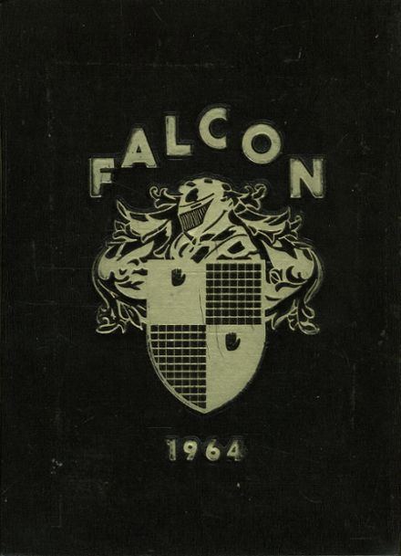 1964 Tyrone High School Yearbook Cover