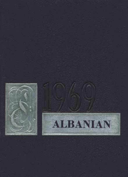 1969 Albany High School Yearbook Cover