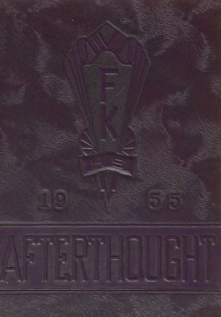 1955 Fairview Township-Karns City High School Yearbook Cover