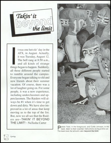 1999 Reagan High School Yearbook Page 6