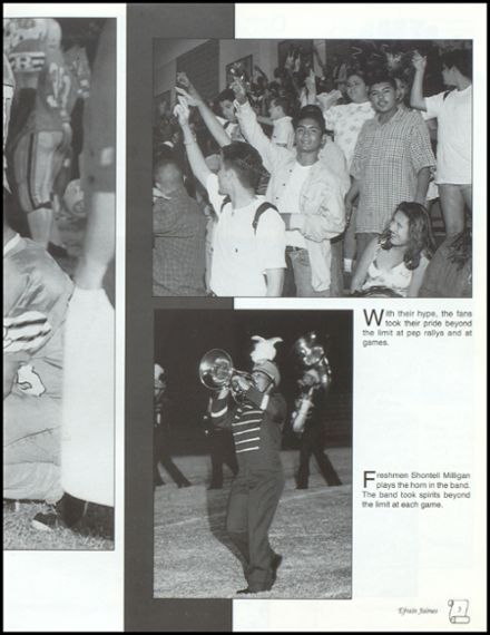 1999 Reagan High School Yearbook Page 7