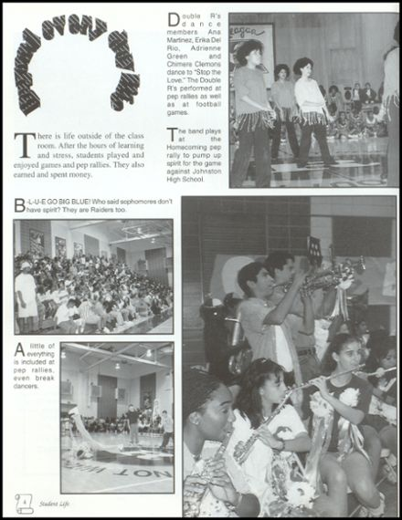 1999 Reagan High School Yearbook Page 8
