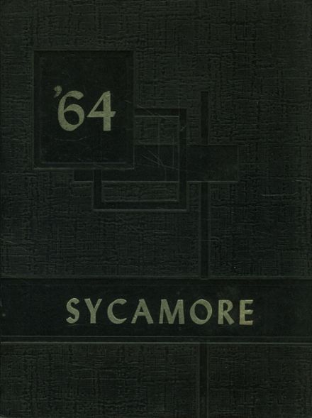 1964 Wabash High School Yearbook Cover
