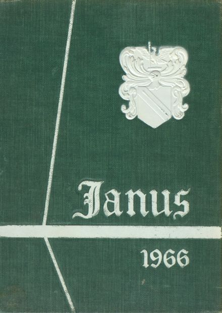1966 Maloney High School Yearbook Cover