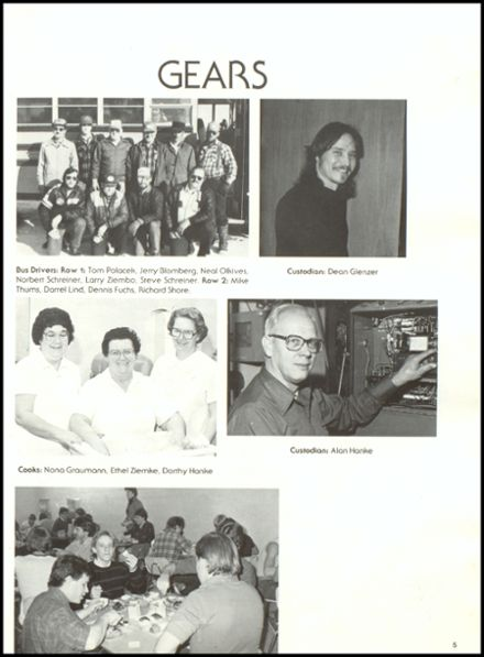 1986 Rib Lake High School Yearbook Page 9