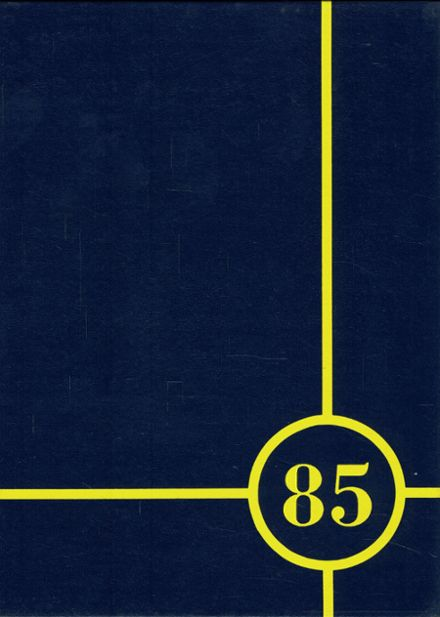 1985 Victor High School Yearbook Cover
