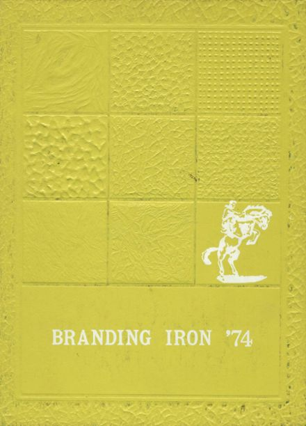 1974 Custer County High School Yearbook Cover