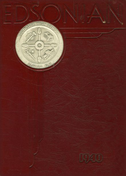 1940 Southside High School Yearbook Cover