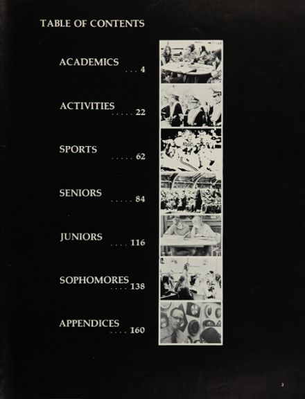 1972 Ypsilanti High School Yearbook Page 7
