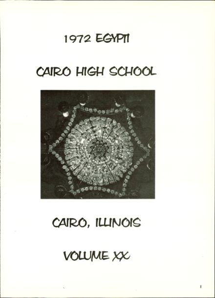 1972 Cairo High School Yearbook Page 5