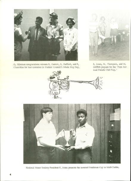 1972 Cairo High School Yearbook Page 8