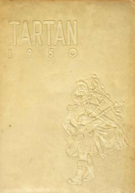 1950 Portsmouth East High School Yearbook Cover