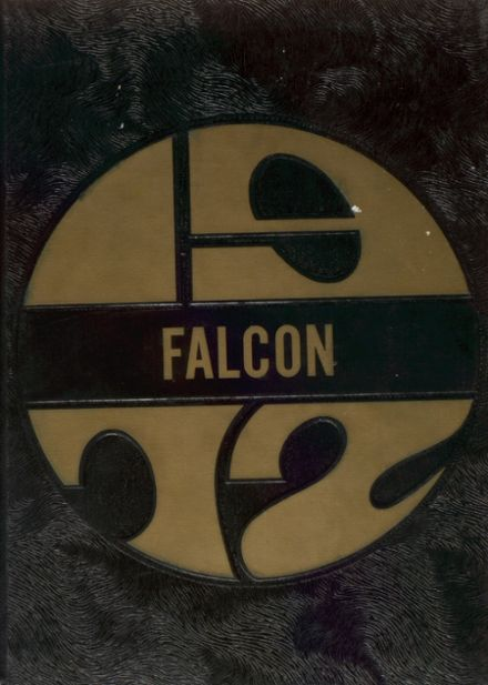 1972 Louisa-Muscatine High School Yearbook Cover