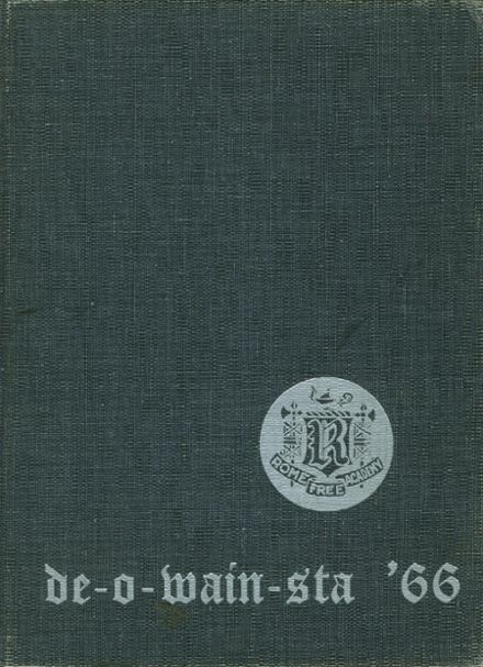 1966 Rome Free Academy Yearbook Cover