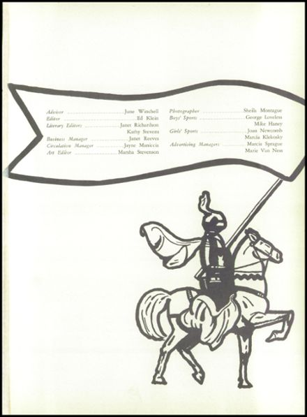 1958 Baldwinsville Academy Yearbook Page 5