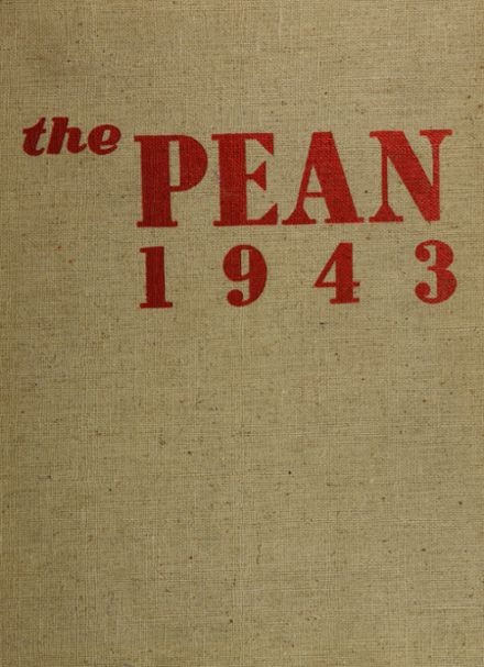 1943 Phillips Exeter Academy Yearbook Cover