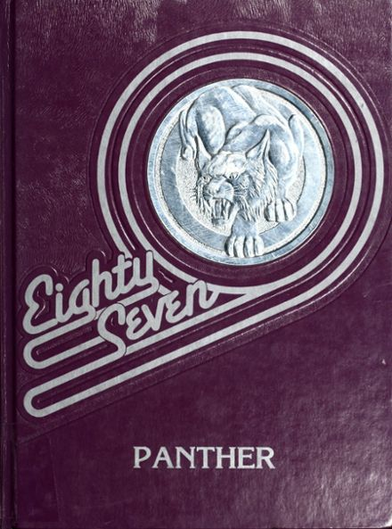 1987 Royal Valley High School Yearbook Cover