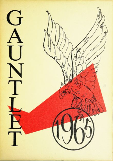 1965 Atwater High School Yearbook Cover