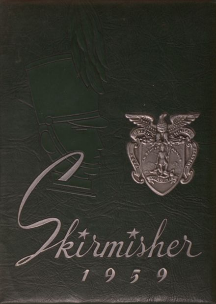 1959 Fork Union Military Academy Yearbook Cover
