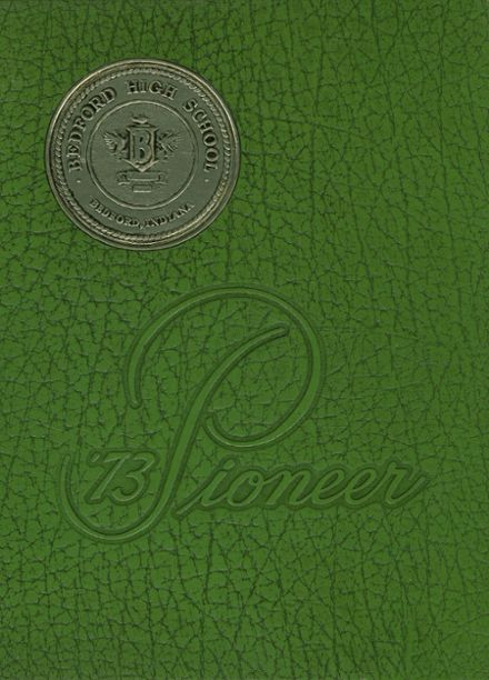1973 Bedford High School Yearbook Cover