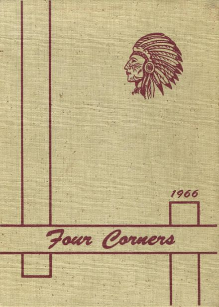 1966 Scarborough High School Yearbook Cover