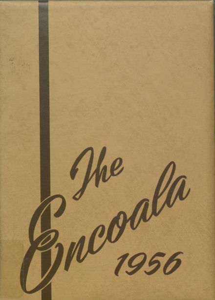 1956 Enterprise High School Yearbook Cover