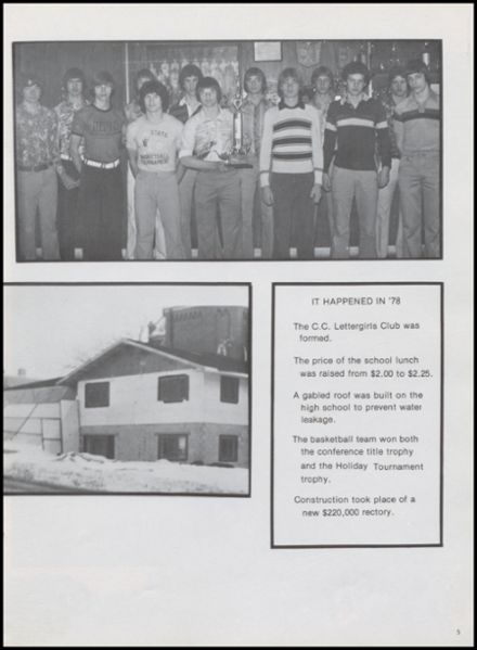 1978 Central Catholic High School Yearbook Page 9