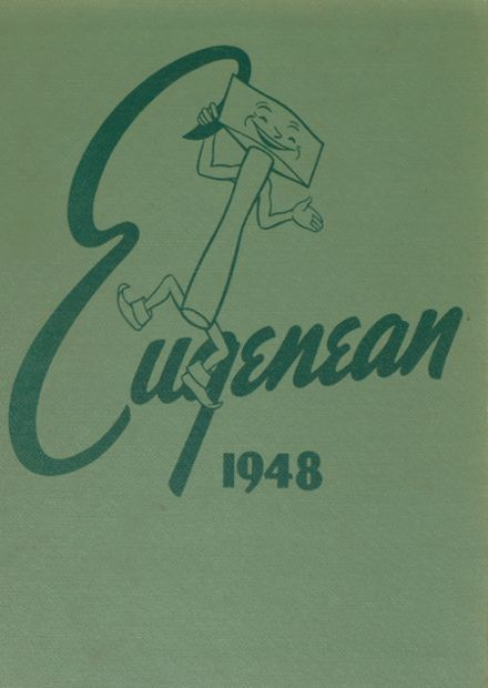 1948 Eugene High School Yearbook Cover