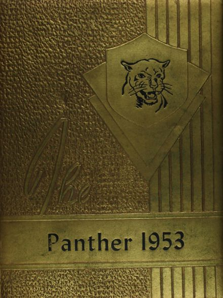 1953 Kyle High School Yearbook Cover