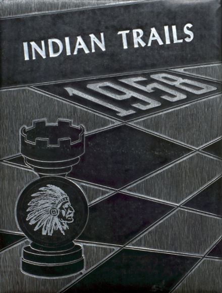 1958 Indianola High School Yearbook Cover