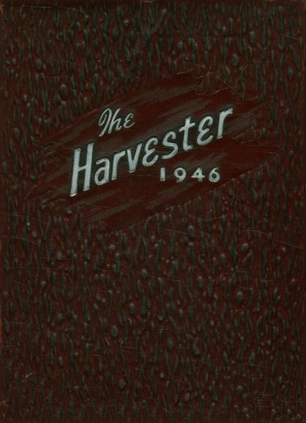 1946 Pampa High School Yearbook Cover