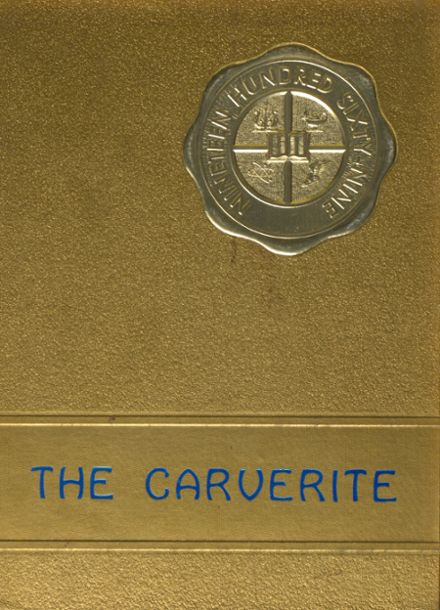 1969 Carver High School Yearbook Cover